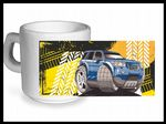 Koolart TYRE TRAX 4x4 Design For Gen 2  Land Rover Freelander 2  - Ceramic Tea Or Coffee Mug